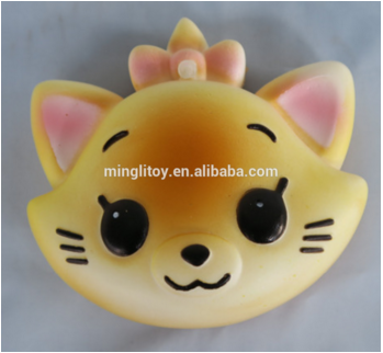 slow rising animal shaped stress balls , Soft pu foam toy,slow raised stress toy